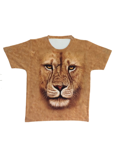 Round Neck Digital Printed T-Shirt