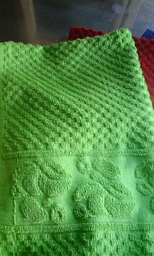 Green Plain Towel in  Fort