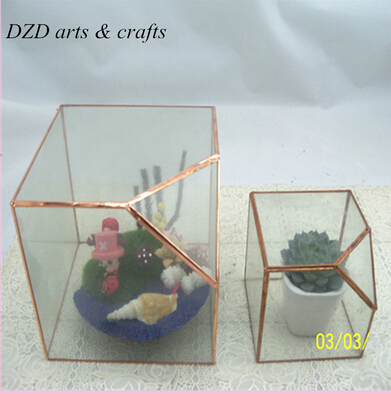 Tiffany Style Cheap Aquarium Plants Glass Terrarium