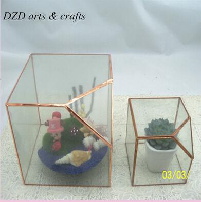 Tiffany Style Cheap Aquarium Plants Glass Terrarium