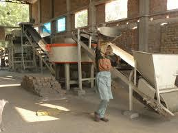 Automatic Fly Ash Brick Press Plant