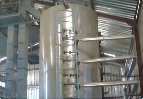 Cooker For Solvent Extraction Plant