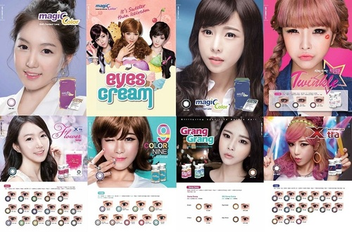 Geo Colored Contact Lenses