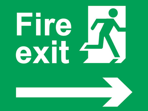 Fire Safety Sign Boards