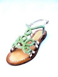 Opaque Beads Sandal