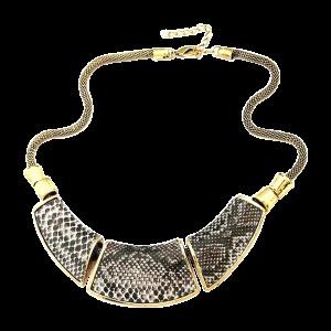 Snake Choker Short Necklace