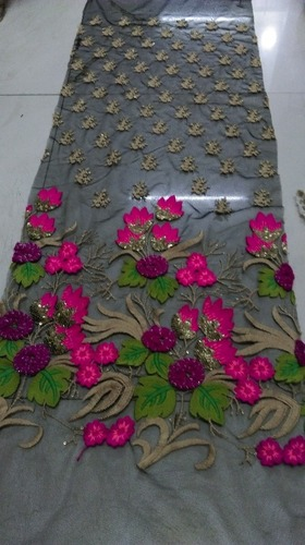 Embroidery Ladies Anarkali Dress Fabric
