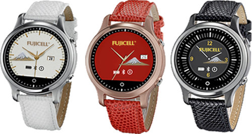 Fashionable Analog Smartwatch