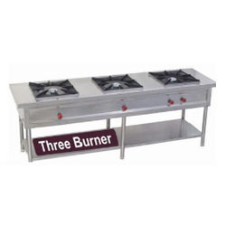 Commercial Three Burner Gas Stoves in  Chattarpur