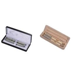 Metal And Wooden Pen Set in  Surat Nagar