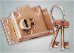 Shatter Side Gate Lock (Brass Body) in  Bargachia
