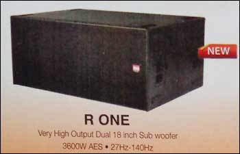 Very High Output Dual 18 Inch Sub Woofer (R One)