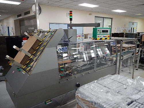Marchesini Ps510 Case Packer Machine