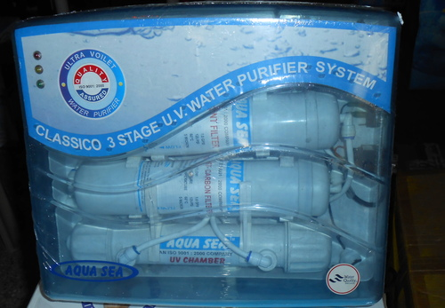 Three Stage UV Water Purifier System in  Dewan & Shah Indl.-Navghar-Vasai (E)