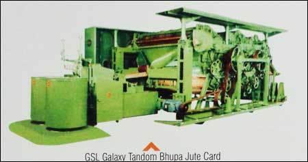 Tandom Bhupa Jute Card Machine