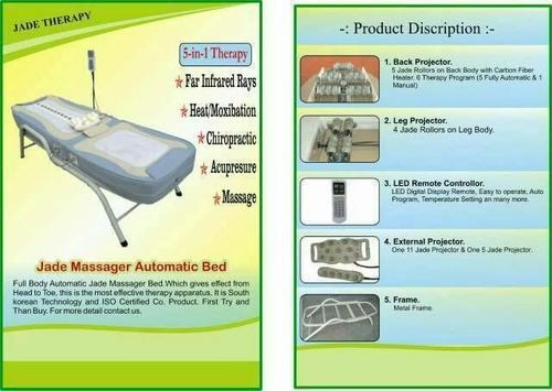 Automatic Tharmal Massager Bed
