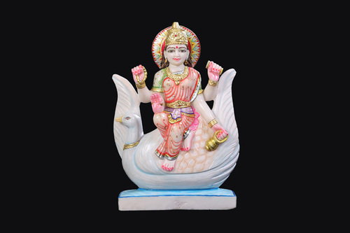 Lord Bhramani Marble Statue