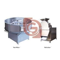 Semi Auto Detergent Machine