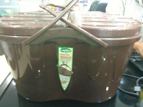 Picnic Plastic Basket
