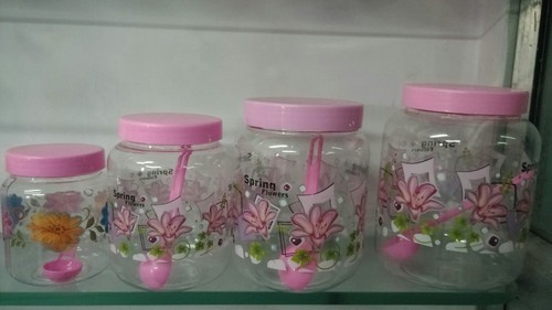 Round Neck Pet Jars in   Somnath