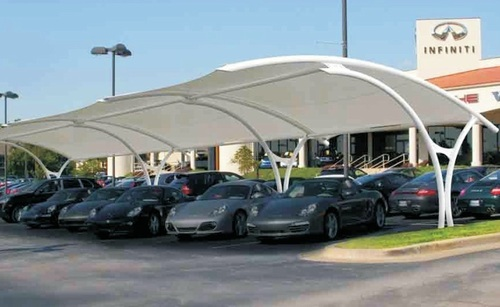 Car Parking Tents and Tensile Structures & Car Parking Tents and Tensile Structures in Mumbai Maharashtra ...