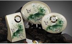Korea Folk Paintings-Painting of Lotus Flowers
