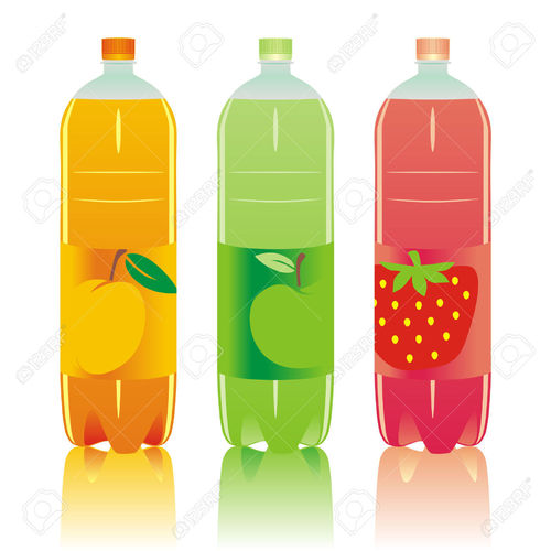 Carbonated Drinks And Soda Bottles