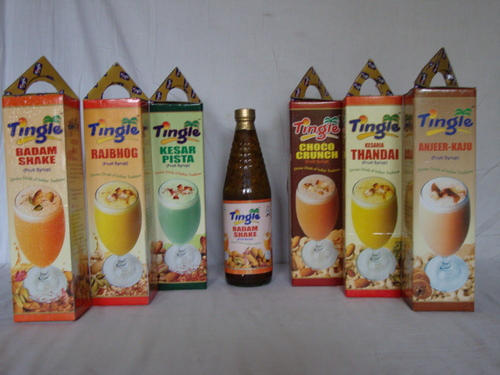 Tingle Dry Fruit Syrups