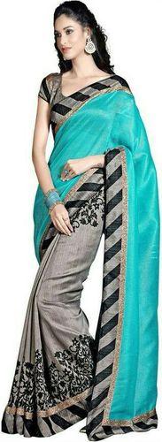 Puffin Designer Saree