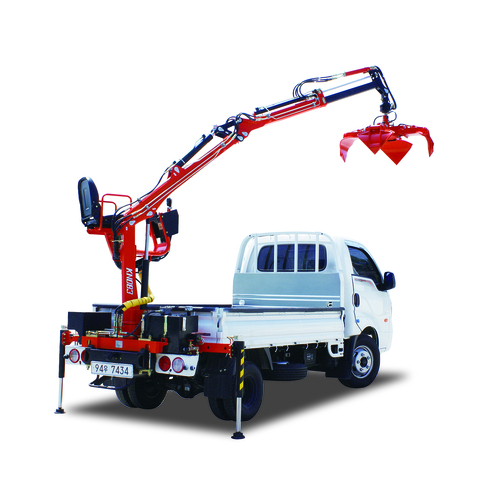 Knuckle Boom Cranes Manufacturers : Kn knuckle boom crane in korea cheongju exporter and