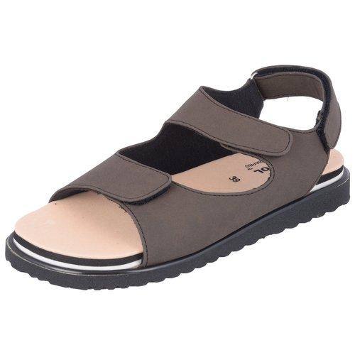 Diakool Ladies Oyster Brown Diabetic Footwear