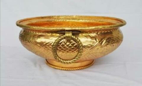 Brass Sheet Urli (CII 72)