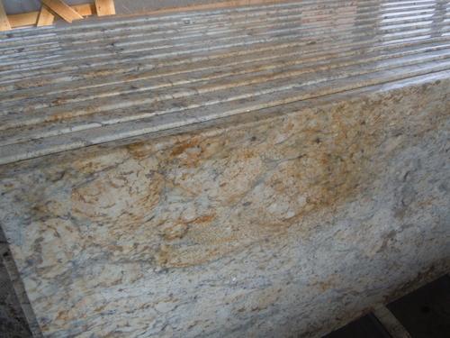 Golden Crystal Flower Granite