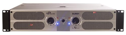 DJ 801 Professional Power Amplifiers