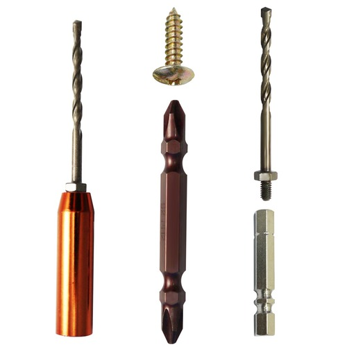 Patent High Speed Non-Slipping Exchangeable Concrete Drill Bits