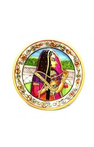 Bhani Thani on Marble Plate