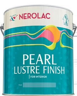 Nerolac pearl lustre finish special interior wall paint in Special paint finishes