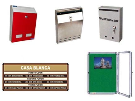 Name Plate Boards And Letter Boxes