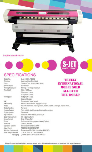 Sublimation Printer in  Tonk Road