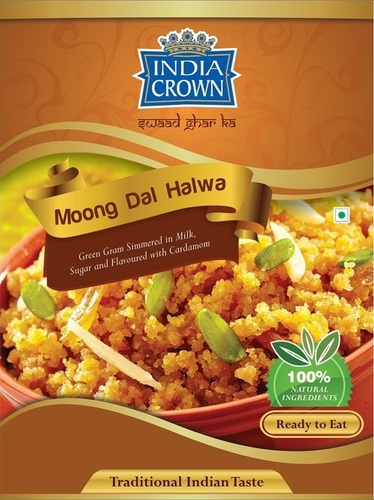 India Crown Moong Dal Halwa (Ready To Eat)