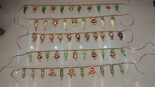 White Metal Handicraft Torans