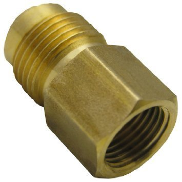 Brass Flare Adapter Reducing Coupling in   G.I.D.C - III Dared