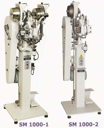 Eyelet Punching and Attaching Machine