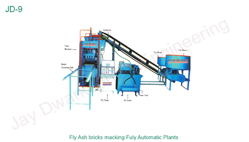 Automatic Fly Ash Bricks Making Fully Automatic Plants
