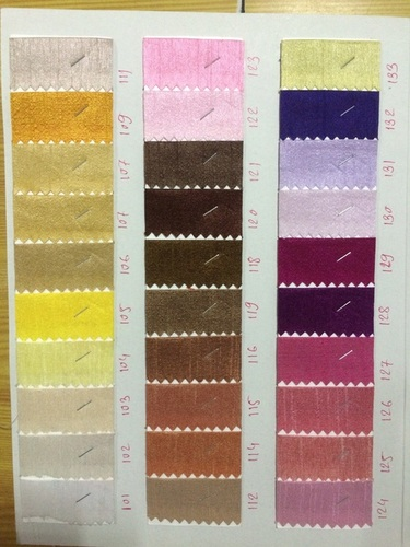 Dupion Fabric in  Udhna