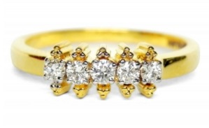 Charlie Diamond Ring