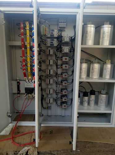 Relay Panel For Capacitor