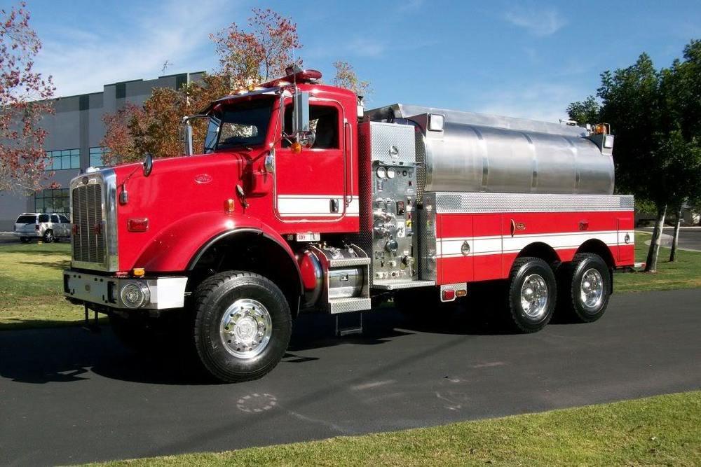 Water Tender Truck