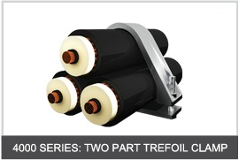 4000 Series Two Part Trefoil Clamps