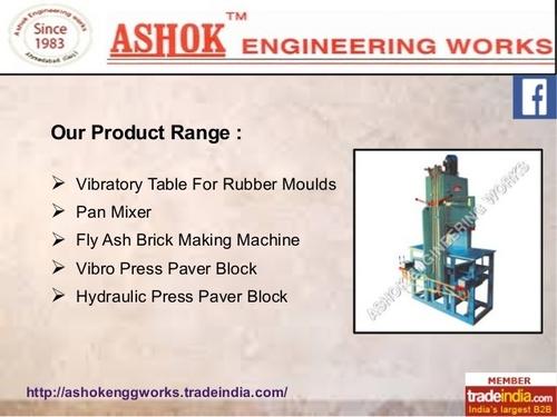 Automatic Flyash Brick Making Machine
